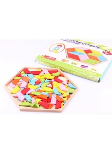 Geometrik Ahşap Zeka Oyunu-Learning Toys